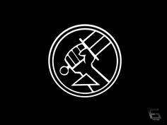 bureau hellboy1 20 Fictional Logo Designs for Your Inspiration
