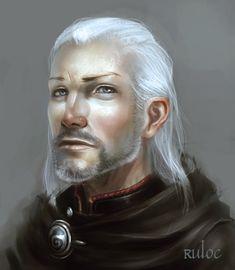 Reed - Cleric of Pharasma by Ruloc on deviantART