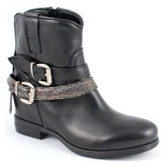 Scarpe moda donna  Biker 286440 Nero 1f3d90521d4