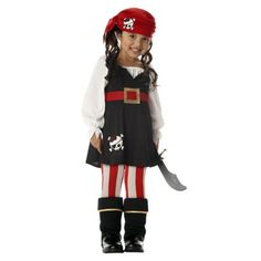 Toddler/Girl's Precious Lil' Pirate Costume