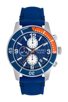 Sperry | Men's Diver Silicone Strap Watch | Nordstrom Rack