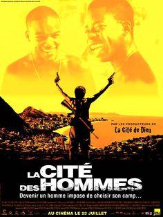City of Men (2007) -  Best buddies Acerola and Laranjinha, about to turn 18, discover things about their missing fathers' pasts which will shatter their solid friendship, in the middle of a war between rival drug gangs from Rio's favelas.