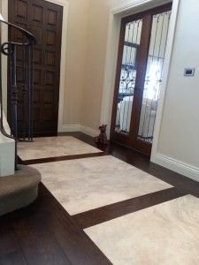 tile and wood flooring combination ideas with formal designing over the simplest tile and wood flooring combination ideas for the hottest home design ideas