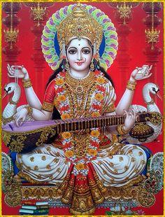 Krishna Janmashtami Wishes, Images, Qoutes, And Messeges Saraswati Photo, Saraswati Mata, Saraswati Goddess, Durga Maa, Jai Hanuman, Shiva Parvati Images, Lakshmi Images, Shiva Shakti, Krishna Images
