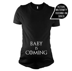 Maternity Clothes Pregnancy Announcement Shirt Maternity Shirt Winter Is Coming Mother Of Dragons Game Of Thrones Shirt Funny Maternity Urban Fashion Women, Curvy Women Fashion, Womens Fashion, Fashion Fall, High Fashion, Indie Fashion, Fashion 2020, Street Fashion, Baby Shirts