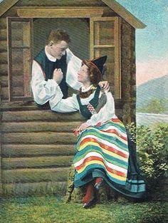 Midsommarhälsning 1906