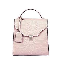 Sheena Croc Bag Pink Bags, Crocs, Pink Handbags
