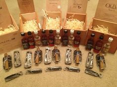 Groomsmen Gifts! Cigars and accessories