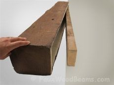 You can install faux wood and real wood fireplace mantel shelves yourself, they are so lightweight and easy to handle. Full fireplace mantel installation instructions are here. Farmhouse Fireplace Mantels, Tall Fireplace, Fireplace Shelves, Mantel Shelf, Fireplace Remodel, Fireplace Mantle, Fireplaces, Fireplace Ideas, Simple Fireplace