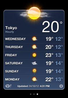 iOS 6 Weather iti permite sa implementezi in iOS 5 tema aplicatiei Weather din iOS 6