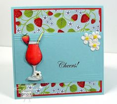 """""""Sweet Strawberries"""" by Theresa Momber - Gina K Designs"""