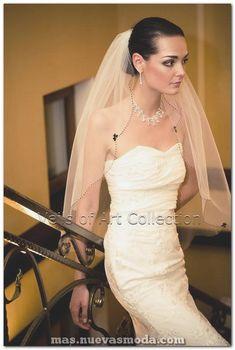 e1e93fb705 80 estupendos velos icónicos para bodas que combinan perfectamente con tu  vestido de novia