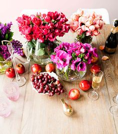 How to: decorate your home with flowers & fruit
