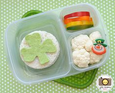 St. Patrick's day #EasyLunchboxes