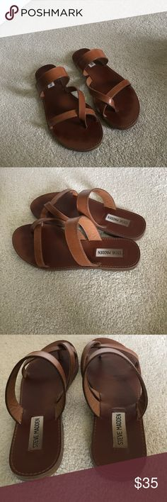 Steve Madden sandals Steve Madden sandals size 8.5 these have been worn as shown in pictures! Steve Madden Other