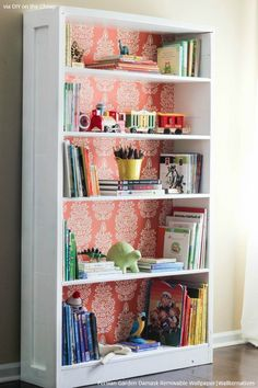 Home Confort, Furniture Makeover, Diy Furniture, Inexpensive Furniture, Painted Furniture, Trendy Furniture, Furniture Design, Bookshelf Makeover, Bookshelf Ideas