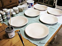 Glazing The Moon! Glazing tips and info, by Melinda Marie Alexander from Raven Hill Pottery.