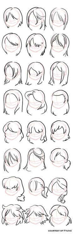 cool Hairstyles- Straight by Fyuvix on deviantART