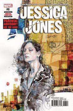 Jessica JONES Vol1 6 (2017) by David MACK | Beautiful COVERS of Marvel COMICS