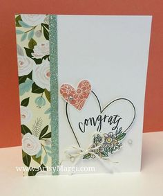 Hello Lovely + Adore You = Simply Pretty #ctmhhellolovely #cards #stamping #diy #artsymargi