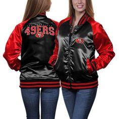 49ers Ladies Team Spirit Satin Jacket #Fanatics