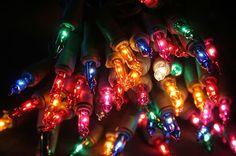 Luzes, a graça do Natal.