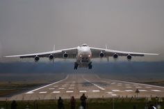 10 Largest Military Aircraft in History; Antonov An-225 Mriya, largest and heaviest ever at 705 tons.