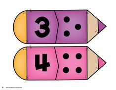 Numbers Preschool, Learning Numbers, Math Numbers, Preschool Worksheets, Kindergarten Math, Teaching Math, Preschool Activities, Counting For Kids, Math For Kids