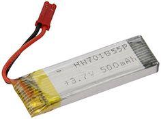 Ersatzteil - Batería RC UFO U818A - Akku, 3.7 V 500 mAh Li-Po (importado de Alemania) - http://www.midronepro.com/producto/ersatzteil-bateria-rc-ufo-u818a-akku-3-7-v-500-mah-li-po-importado-de-alemania/