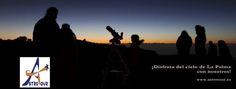 Astrotur Isla Bonita - Actividades relacionadas con la astronomía en La Isla de la Palma.