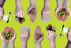 dieta de la mano