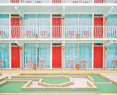 Gold Crest Resort Motel: Man kann sich vorstellen, wie hier im Sommer Menschen…