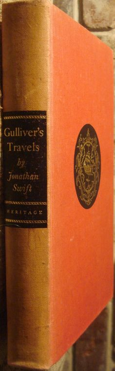 first edition gulliver's travels spine - Google Search
