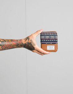 Bershka Bulgaria  - Ethnic print jacquard purse