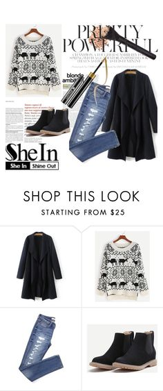 """SheIn 2/VI"" by hedija-okanovic ❤ liked on Polyvore featuring shein"