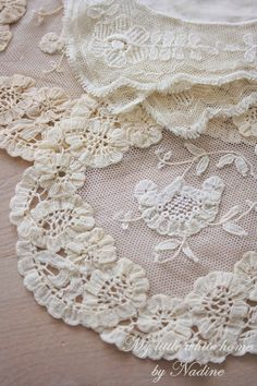 Love lace... Princess lace,  one of my favorites