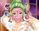 Em Barbie Beauty Spa, entre no fabuloso mundo da Barbie e junte-se a ela e aprenda todos os seus truques e segredos de beleza. Comece com o tratamento nos cabelos, na pele do rosto e no corpo. Depois, relaxe com ela em uma banheira de água morna. Finalize fazendo uma linda maquiagem e escolhendo a roupa mais fashion de todas. Divirta-se com a Barbie!