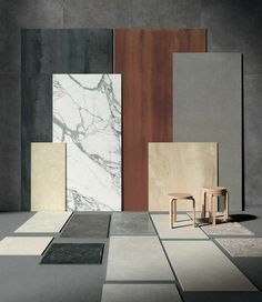 #moodboard #inspiration #ispirazioni #finiture #materiali #marble #marmodicarrara #parquet Colour Pallete, Colour Schemes, Interior Decorating Tips, Interior Design, Marketing Colors, Mood Board Interior, Modern Tv Wall, Colour Architecture, Shelving Design