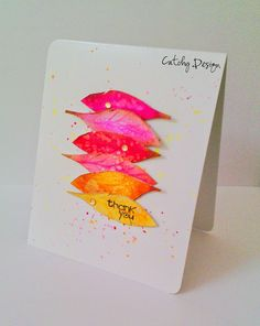 Catchy Design : Thank You Cards!