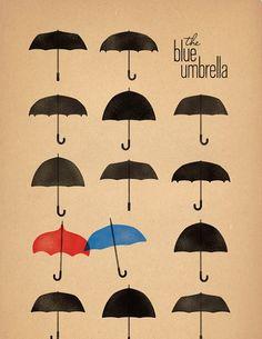 blue umbrella 3  /Saschka Unseld