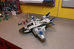 LEGO Marvel Super Heroes - 6869 Quinjet Aerial Battle - 1  735 pieces $69.99 USD $89.99 CAD Available in May Lego Marvel Super Heroes, Lego Sets, Battle, Superhero, Board, Lego Games, Sign, Planks