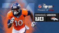 #74: Emmanuel Sanders (WR, Broncos) | Top 100 NFL Players of 2016