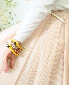 DIY Knitting Needle Bracelet