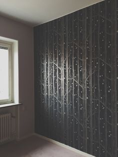 "bergtagen: "" My bedroom turned into a silver forest. """