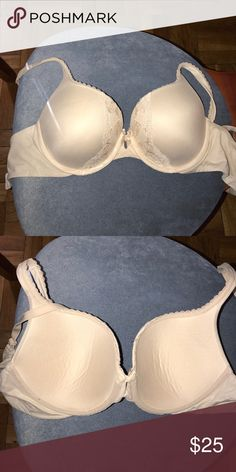Victorias Secret Bra Size 34C Tried on but too small !!! Perfect nude Victoria's Secret Intimates & Sleepwear Bras