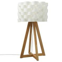 Lampe à Poser En Bambou MOKI H55cm