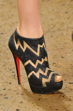 Oh I LOVE these shoes by Christian Louboutin