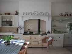 My kitchen with fabulous Aga cooker
