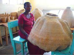 Bulawayo basket from Design Afrika: Remodelista
