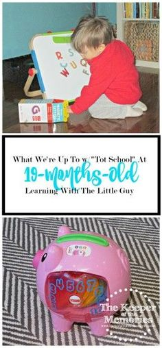 Here are just a few of the things that one mama and her toddler are up to with their Tot School days. This post is full of ideas for awesome toddler activities.
